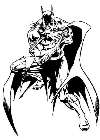 -бэтмен-распечатать-12 раскраска бэтмен распечатать (12)