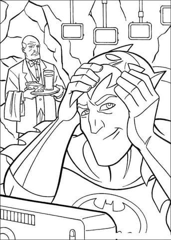 -бэтмен-распечатать-14 раскраска бэтмен распечатать (14)