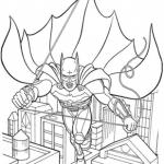 раскраска бэтмен распечатать (2)