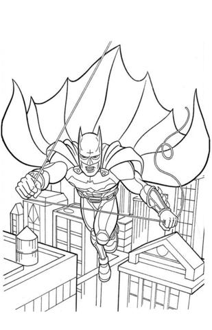 -бэтмен-распечатать-2 раскраска бэтмен распечатать (2)
