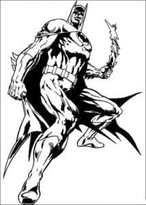 раскраска бэтмен распечатать (3)