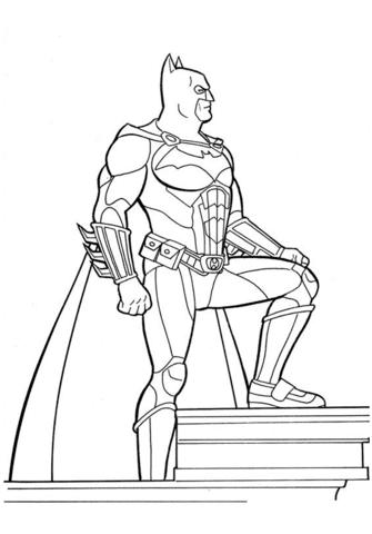 раскраска бэтмен распечатать (4)
