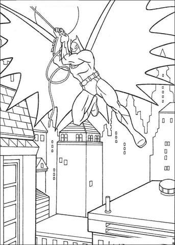 -бэтмен-распечатать-5 раскраска бэтмен распечатать (5)