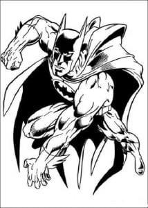 раскраска бэтмен распечатать (6)