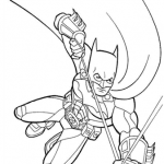 раскраска бэтмен распечатать (7)