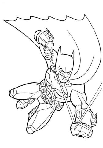 -бэтмен-распечатать-7 раскраска бэтмен распечатать (7)