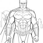 раскраска бэтмен распечатать (8)