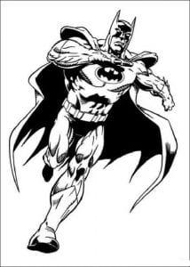 раскраска бэтмен распечатать (9)