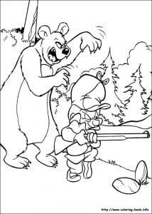 Bugs Bunny раскраска (5)