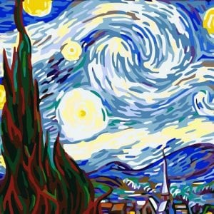 Картины известных художников раскраски