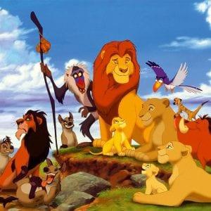 Король лев раскраски
