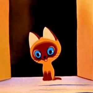 Котёнок по имени Гав раскраски