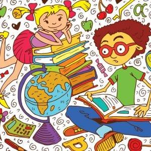 Раскраски про школу