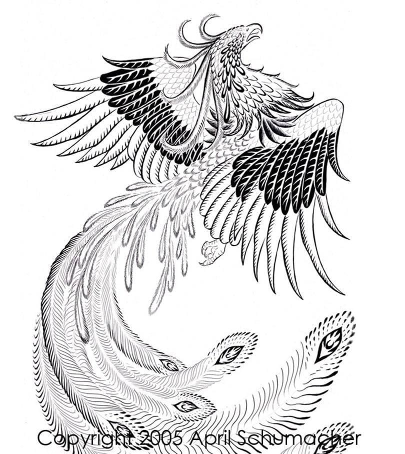 Раскраска на крыльях счастья