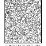 Раскраски по номерам для взрослых (10)