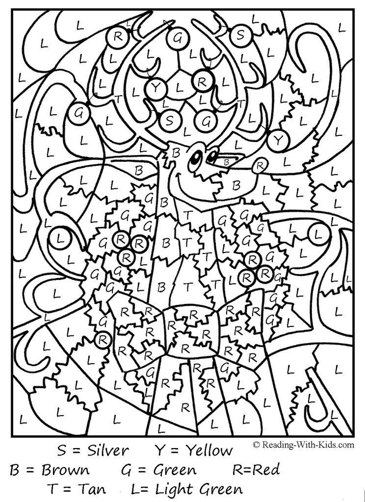 Раскраски по номерам для взрослых (13) - Рисовака