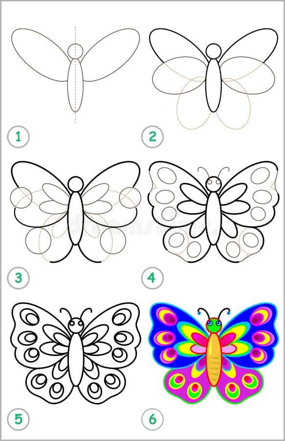 -бабочку Как нарисовать бабочку поэтапно