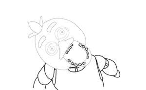 Аниматроники чика картинки раскраски (8)