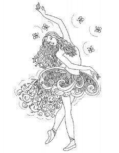 -раскраски-12-233x300 Балерины