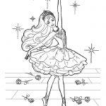 Балерины раскраски (13)