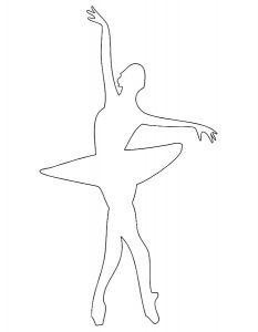 Балерины раскраски (17)