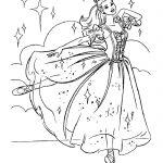 Балерины раскраски (27)