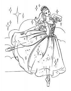 -раскраски-27-233x300 Балерины