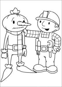 Боб строитель картинки раскраски (1)