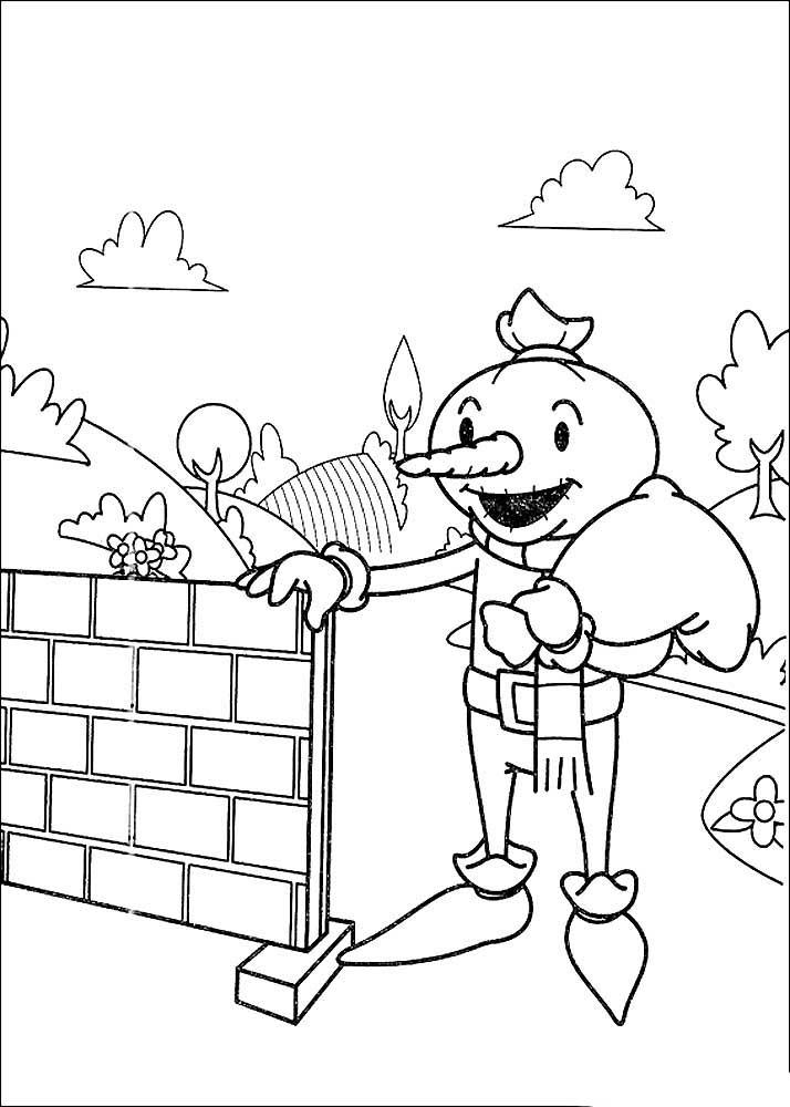 Боб строитель картинки раскраски (24)