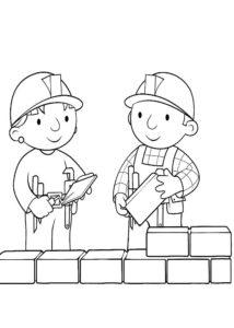 Боб строитель картинки раскраски (34)