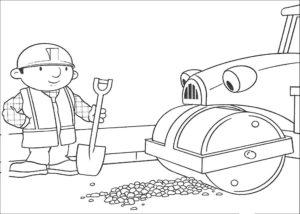 Боб строитель картинки раскраски (4)