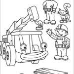 Боб строитель картинки раскраски (40)