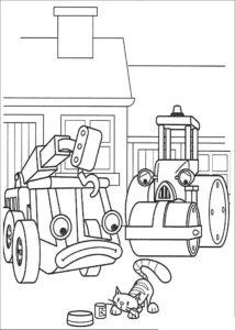 Боб строитель картинки раскраски (41)