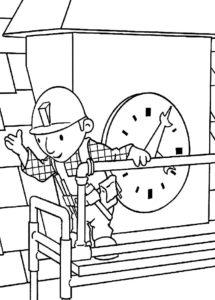 Боб строитель картинки раскраски (43)