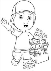 Боб строитель картинки раскраски (46)