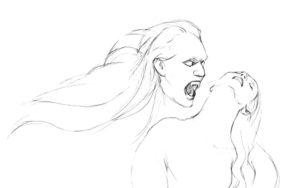 Вампир картинки раскраски (1)