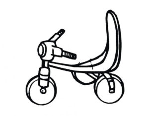 -картинки-раскраски-11-300x234 Велосипед