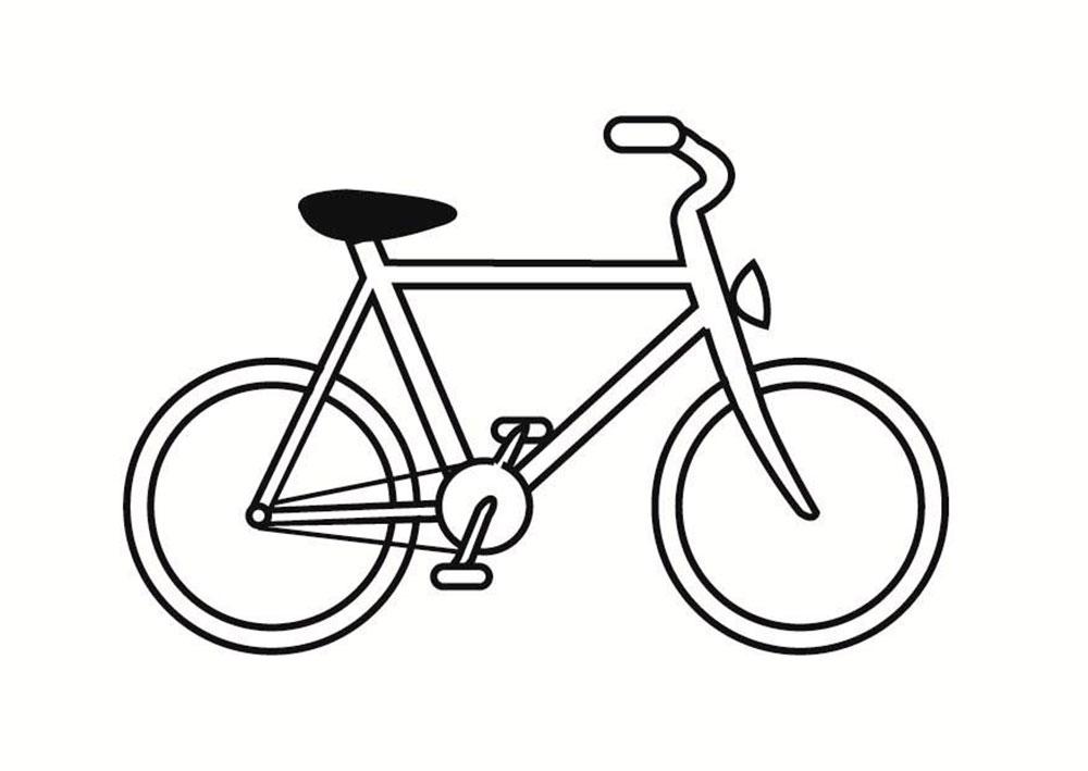 Тебе верю, картинка велосипеда нарисованного