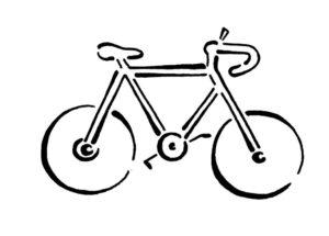 Велосипед картинки раскраски (22)