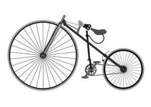 Велосипед картинки раскраски (28)