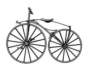 Велосипед картинки раскраски (33)