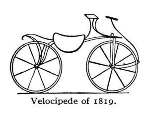 Велосипед картинки раскраски (41)