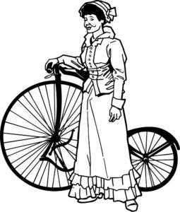Велосипед картинки раскраски (50)