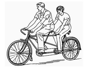 Велосипед картинки раскраски (70)