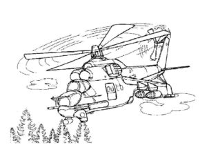 Военная техника картинки раскраски (1)