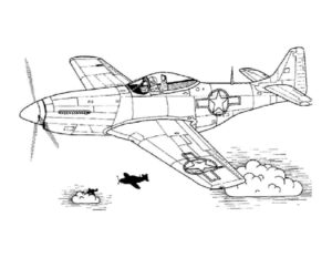 Военная техника картинки раскраски (10)