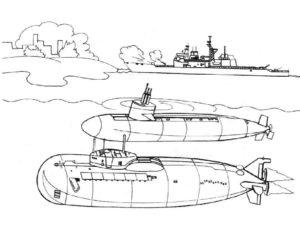 Военная техника картинки раскраски (12)