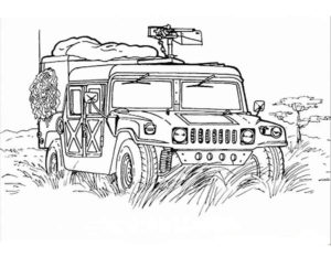Военная техника картинки раскраски (16)