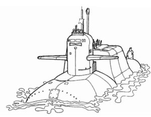 Военная техника картинки раскраски (4)