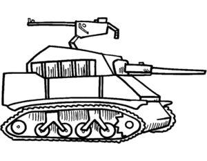 Военная техника картинки раскраски (6)
